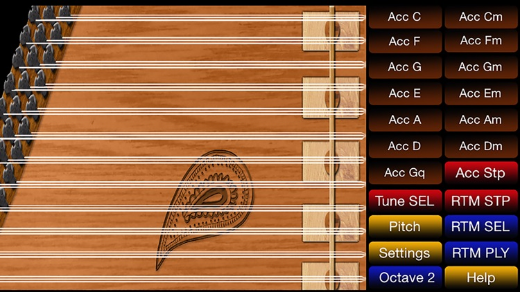 Arabic / Turkish Qanun musical instrument free screenshot-0