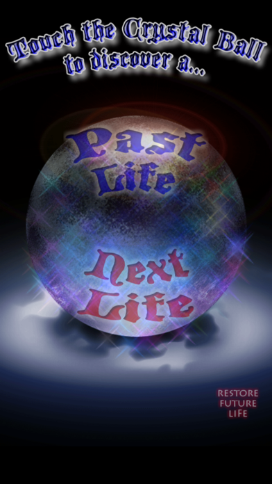 Your Past Lives - Your Future Life - Regression Readings screenshot one