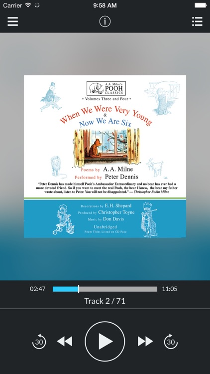 When We Were Very Young and Now We Are Six (by A. A. Milne) (UNABRIDGED AUDIOBOOK)