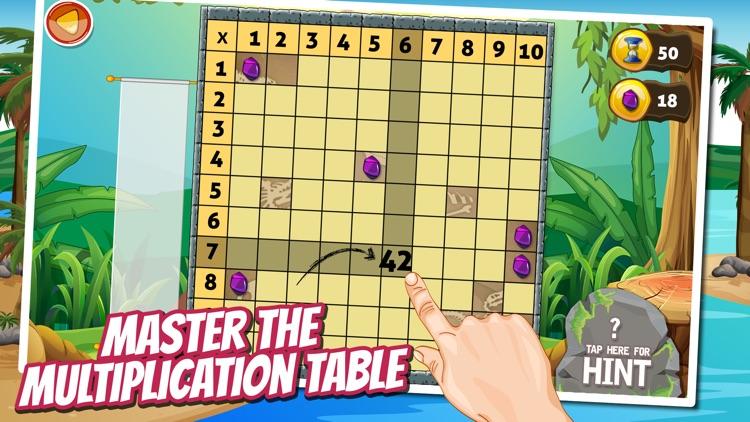 Treasure Dash Math Lite: Fun Multiplication Games for Kids screenshot-4