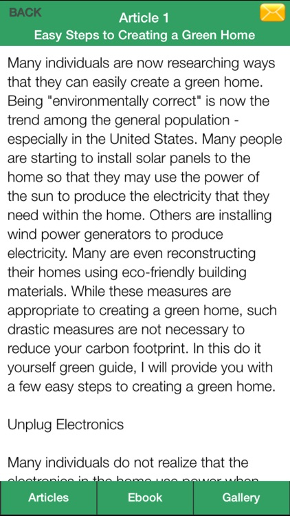 Green Home Guide - Everything You Need To Know About Eco Friendly Home ! screenshot-4