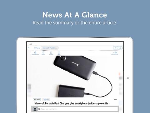 Gadget News - Reviews, Videos and Rumors for Gadgets Lovers - Newsfusion screenshot