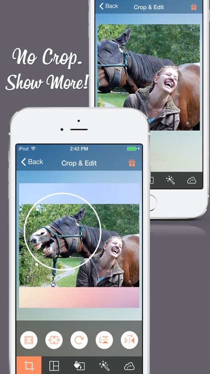 Cropic - Crop Photo & Video Insta-size Layout