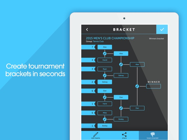 My Bracket Tournament Manager For Amateur Sports On The App Store