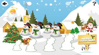 聖誕節兒童遊戲: 學進行比較和排序屏幕截圖5