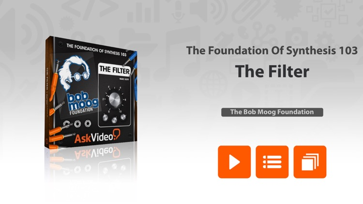 The Filter - Foundation Of Synthesis