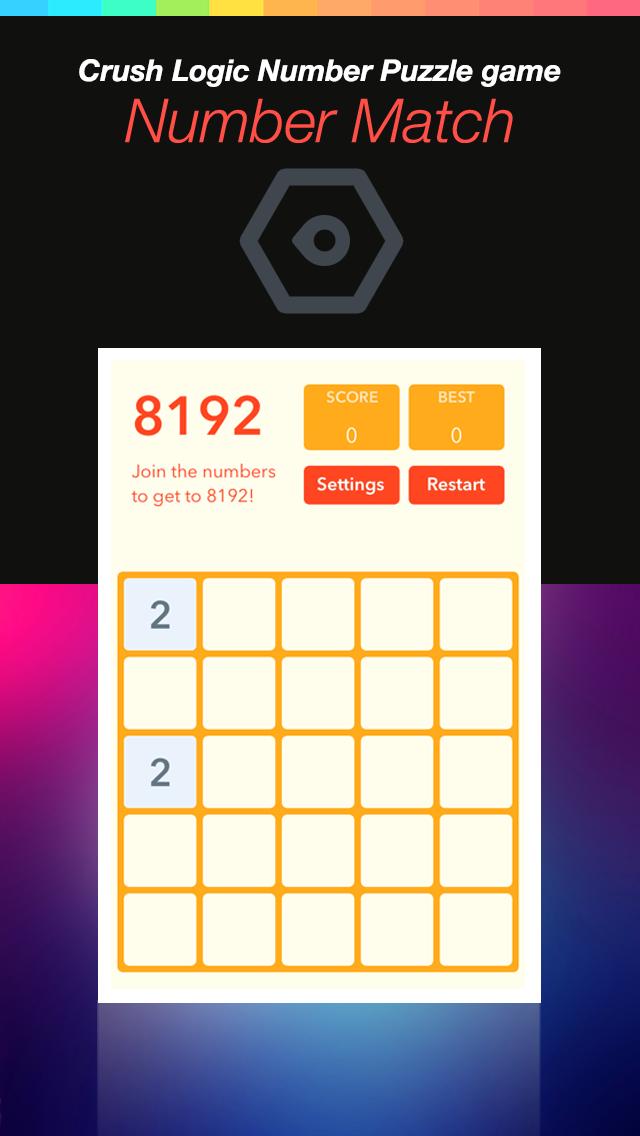 Number Match Hero Plus - Crush Logic Number Puzzle game screenshot four