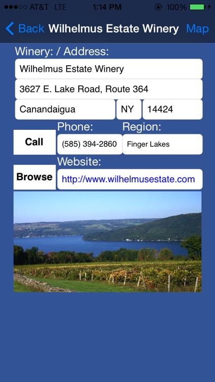 New York Winery Finder screenshot-3