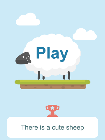 Best Sheep jumps on ladder of platforms with crazy faith-ipad-0