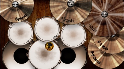Screenshot for Drums! - A studio quality drum kit in your pocket in Chile App Store