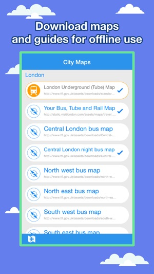 London City Maps Lite Discover LON with Tube Bus and Travel