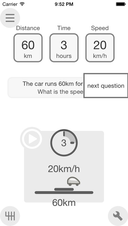 FindSpeed distance-time-speed with animation screenshot-4