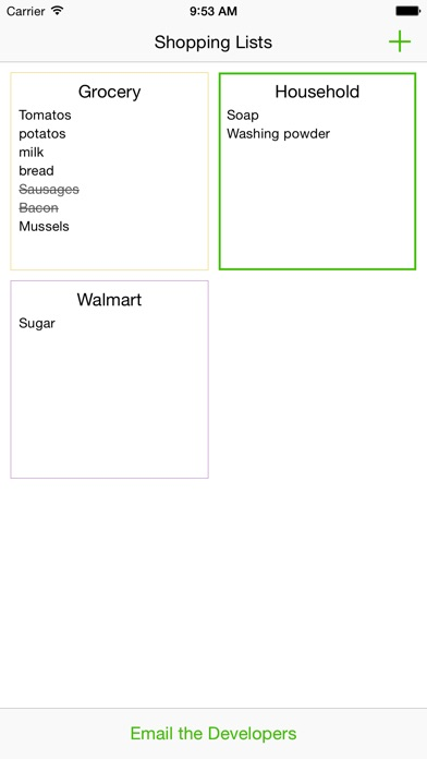 savourylist grocery list for shopping app price drops