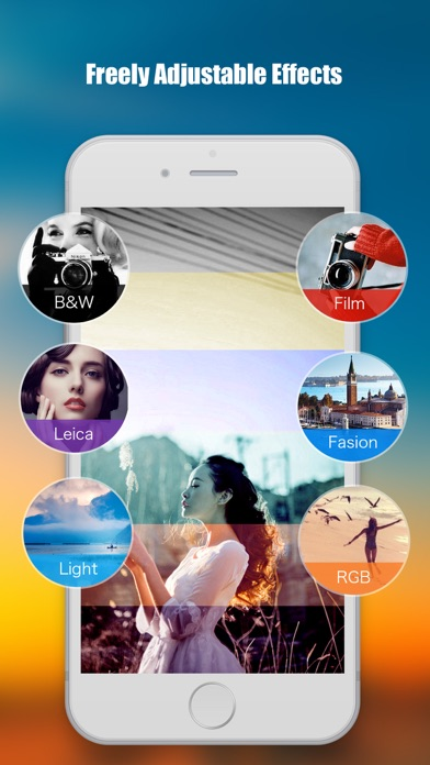 FilterCollage - Photo Editor filter collage and filter grid for instagram Screenshot