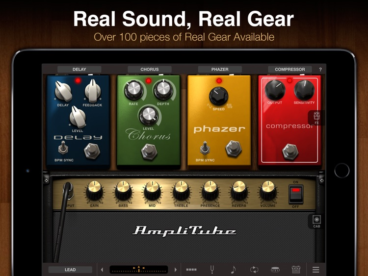 AmpliTube CS for iPad screenshot-0