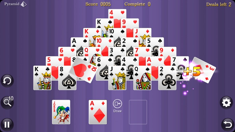 AAA Pyramid Solitaire