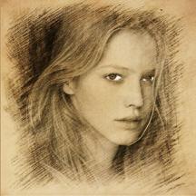 Sketch Guru HD - Portrait Photo Editor to add pencil & cartoon effects, texts, stickers on pic