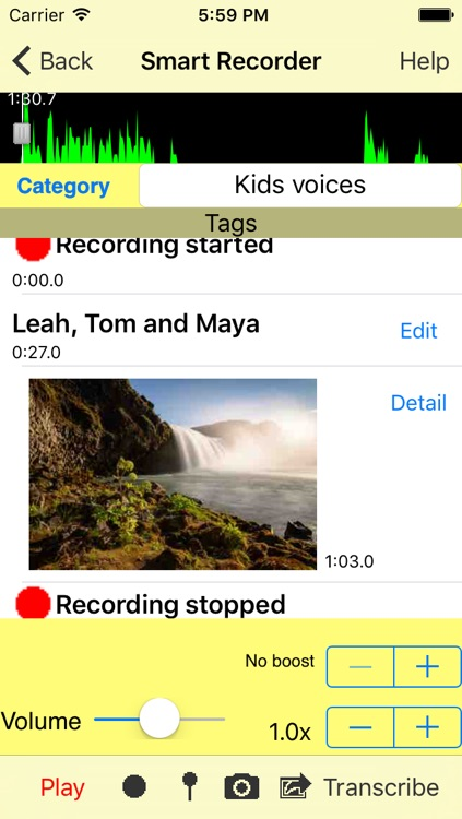 Smart Recorder Classic - The Transcriber/Voice Recorder screenshot-1