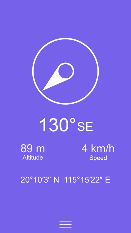 Compass Zen PRO - Minimalist compass with altimeter, speedometer, and more screenshot-4