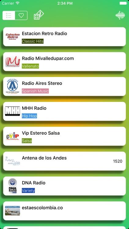 Radios de Colombia - Las mejores radios FM y AM gratis