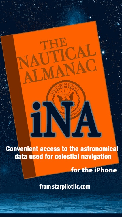 iNA Digitial Nautical Almanac