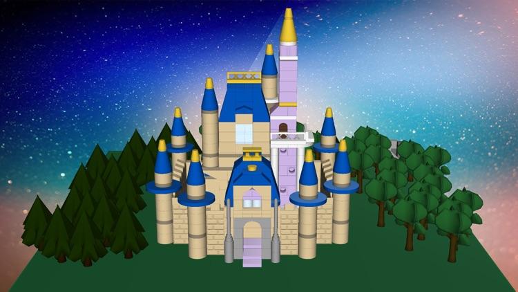 Bloxy World. 3D Blocks For Kids screenshot-3