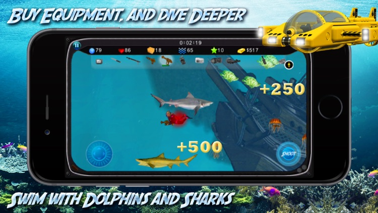 Shark Adventure Free screenshot-2