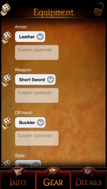 GM Wizard: Character Generator screenshot-3