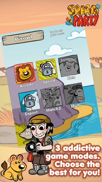 Safari Party - Match3 Puzzle Game with Multiplayer screenshot-3