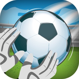 A Soccer Field Goal Challenge- Catch The Ball Mania PRO