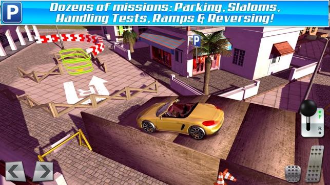 classic sports car parking simulator gratuit jeux de voiture de course dans l app store. Black Bedroom Furniture Sets. Home Design Ideas