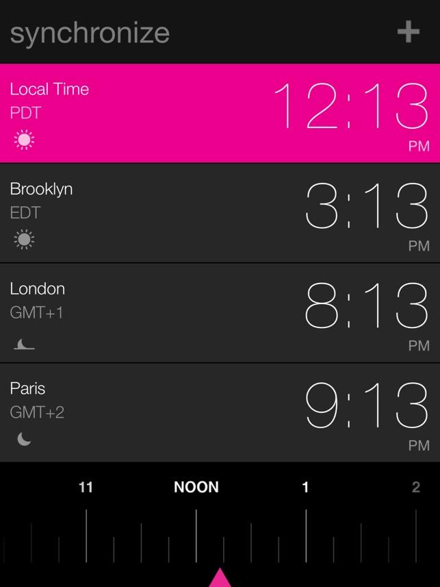 synchronize Screenshot