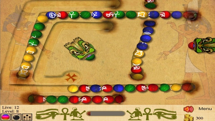 Marble Blast of Egypt screenshot-2