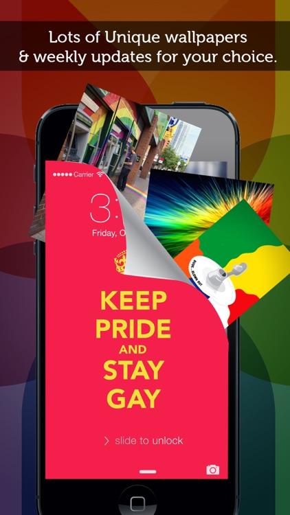 Gay Pride Wallpapers Celebrating Bisexuals, Gays, LGBT, Lesbians, & homosexuals screenshot-4