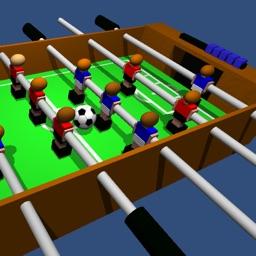 Table Football, Table Soccer,  Foosball. 3D. Pro