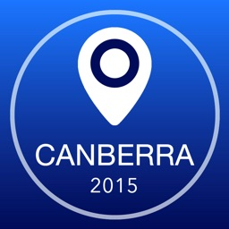 Canberra Offline Map + City Guide Navigator, Attractions and Transports