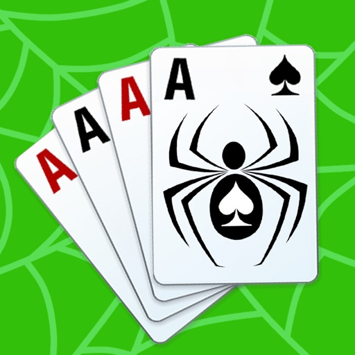 Spider solitaire - classic popular game