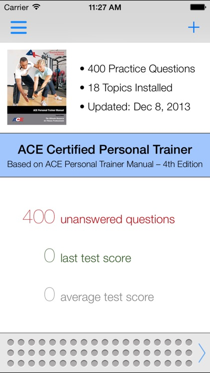 ACE CPT Test Questions & Answers