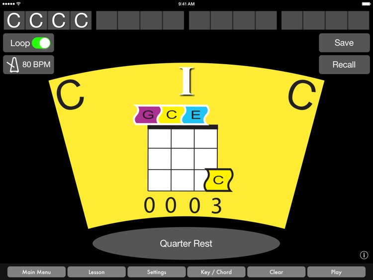 Ukulele Chords by Music Wormhole screenshot-0