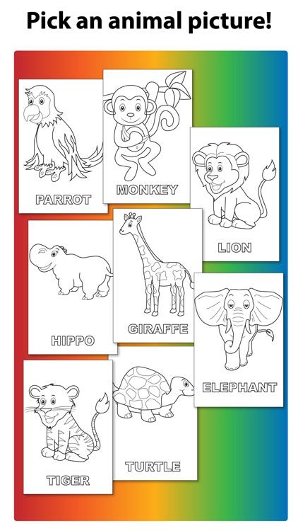 An Animal Kingdom Coloring Book