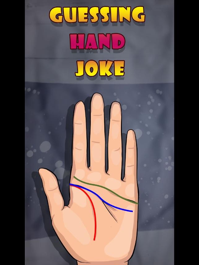 Guessing Hand Joke