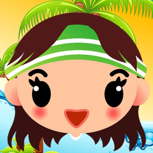 Princess Jump Pro : Fashion Girl Have Fun On The Beach