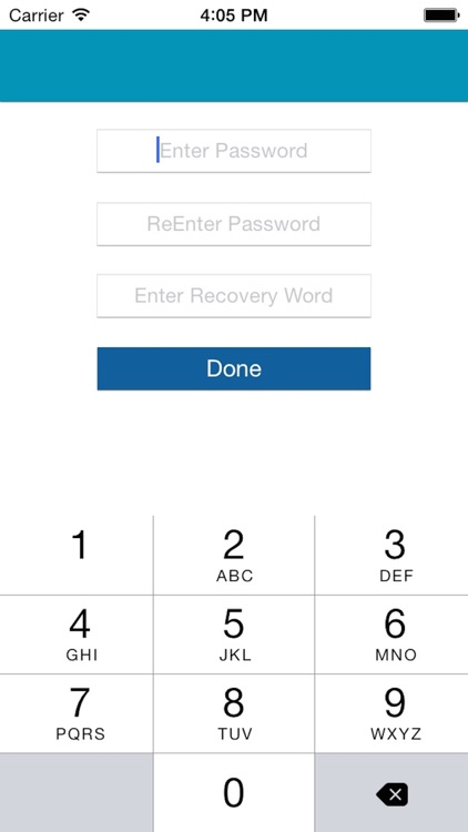 Passcode for Whatsapp messages