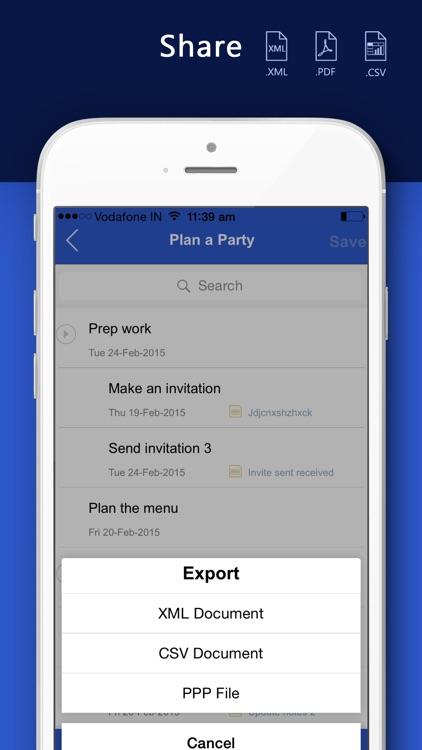 Gantt Pro - for Microsoft Office, Project ( XML / MPP files )