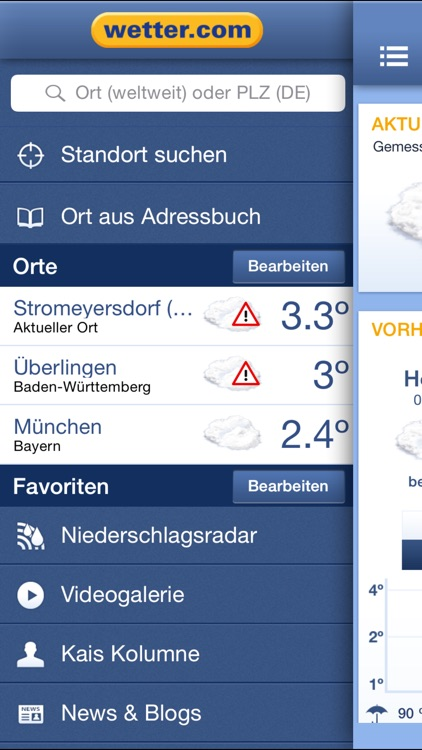 wetter.com - Alte App