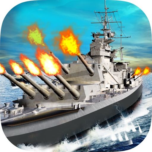 Sea Battleship Combat 3D icon