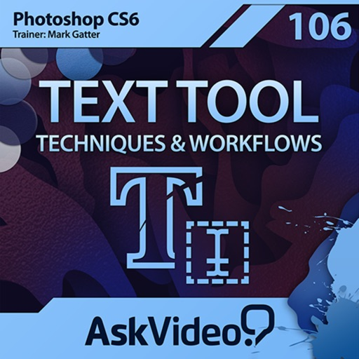 AV for Photoshop CS6 - Text Tool Techniques