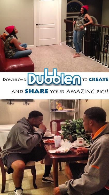 Dubblen+ - Split Pic Camera Lens / Clone / Double Image