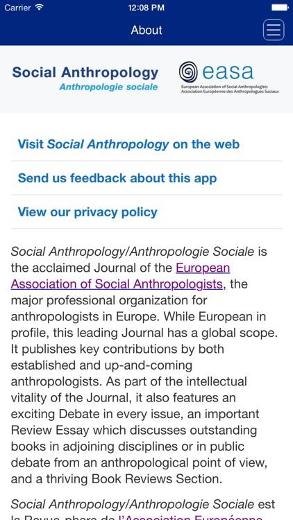 Social Anthropology screenshot-3