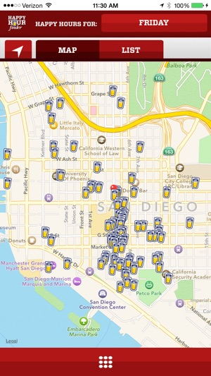 Happy Hour Finder Find Local Food and Drink Deals on the App Store